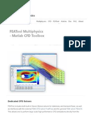 Featool Matlab Cfd Toolbox 170831102755 | Computational