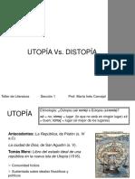Utopc3ada y Distopc3ada