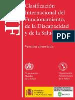 CIF_OMS Clasificación Internacional del Funcionamiento y la Discapacidad y de la Salud
