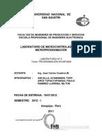 Informe Lab 3 (UControladores)