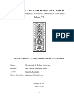 Materialismo Dialectico Como Metodo de Investigación