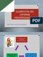 Clase 10-Elementos Del Informe Psicopedagogico