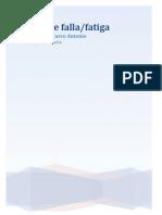 Ensayo de Falla y Fatiga
