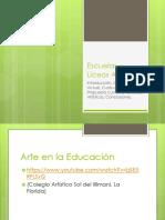 Presentación1 Escuelas Artísticas