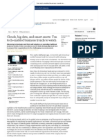 Ten Tech-Enabled Business Trends to Watch - McKinsey Quarterly - High Tech - Strategy & Analysis