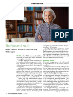 Christine Lagarde the Voice of Youth