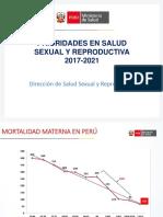 Prioridades SSR 2017-2021