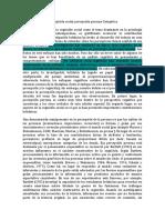 En la identificación de la cognición social como el tema dominante en la psicología social experimental contemporánea