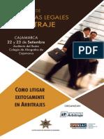 Curso Destrezas Legales en Arbitraje - Cajamarca