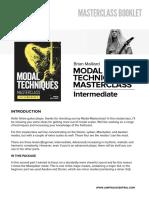 Bm ModalTechMasterclass Intermediate