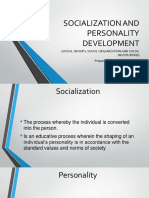 Socialization and Personality Development