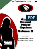 Alpha Sexual Power Vol 3