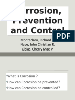 Corrosion, Prevention and Control