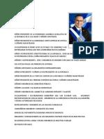 Discurso presidente Mauricio Funes