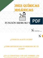 Clase 5 - Función Hidruro y Ácidos