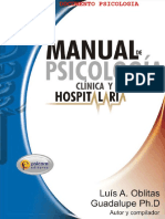 108447353 Manual de Psicologia Clinica y Salud Hospitalaria by Luis Vallester Psicologia Documento