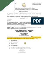 Ley de Obrea Pública y Servicios Relacionados Con La Misma Del Edo. de Chih.