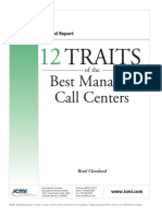 12 Traits of Best Managed Call Centers
