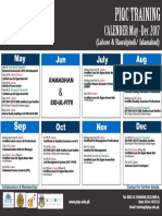 Upcoming Training Calendar