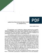 Luis Adolfo Dozo - Positivismo en Argentina