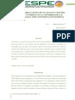 Informe de Extracción de Adn Biología
