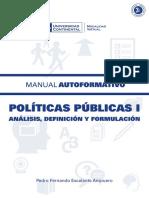A0937 MA Politicas Publicas I ED1 V1 2014