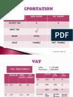 TAXATION 2 VAT 2016 SECOND SEM.pptx