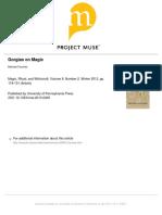 Michael Fournier -- Gorgias on Magic