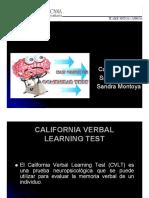 Test de California