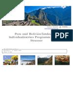Peru Und Bolivien Entdecken - Individualisiertes Programm Für Anita Strasser (1)