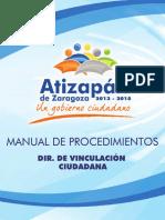 Manual de Procedimientos (Vinculación Ciudadana)
