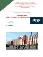 IP1 Usos y Cuidados Del Manejo Del Multimetro