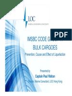 Bulk Cargo Presentation