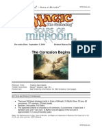 Scars Mirrodin Sales Solicitation