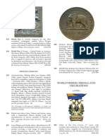 MILITARY MEDALS BANKNOTES