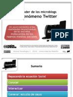 El fenómeno Twitter (primera parte)
