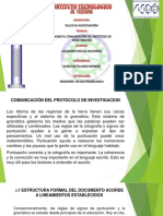Alejandro Miguel Macareno Comunicacion de Protocolos de Investigacion