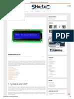 Introducción a Las LCD _ 5Hertz Tutoriales