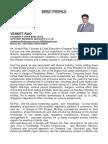 Venket Rao- Rera Expert -Full Profile