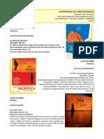 Cinemateca del Mediterráneo. Aula de Cultura de Alicante. Octubre - Diciembre 2017. Fundación Caja Mediterráneo