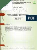 Gestion Integral de Proyectos -Pmrcd