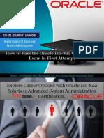 Get Latest Cisco 1z0-822 Exam Questions