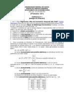 Lista1 - Econometria