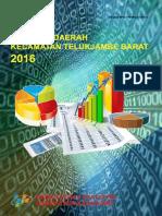 Statistik Daerah Kecamatan Telukjambe Barat 2016