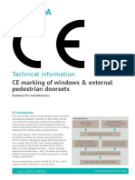CE Marking of Windows and Doors