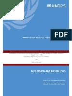Annexure II UNOPS Health Safety Plan