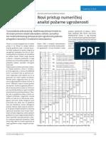 Novi Pristup Numeričkoj Analizi Pozarne Ugrozenosti