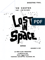 Lost in Space-keeper Pt1