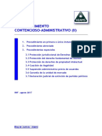 00 Esquemas Contencioso Administrativo II