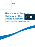 Various - The National Security Strategy of the UK